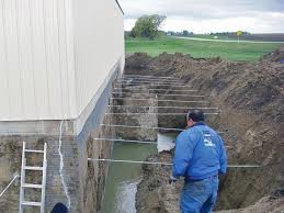 Fix Basement Leaks by Repairing U0026 Straightening Tilting Foundation Walls By Authorized