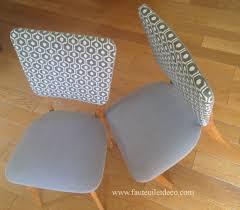 chaises es 50 réfection de chaises des ées 50 fauteuil déco