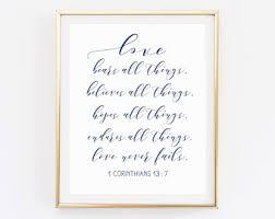 wedding poems corinthians poem etsy