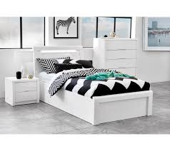 rockhampton white gloss gaslift bed