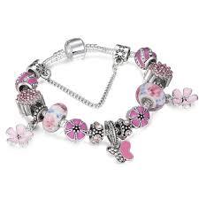 butterfly bracelet charms images Jewelry summer style butterfly flower charm bracelet poshmark jpg