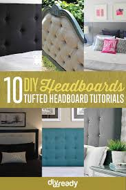 Diy Tufted Headboard How To Make A Tufted Headboard Diy Projects Craft Ideas U0026 How To U0027s