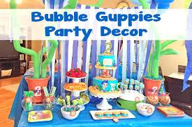 Bubble Guppies Bedroom Decor Ideas Bubble Guppies Birthday Party Guppie Amazing Decorations