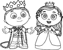 wubbzy coloring pages