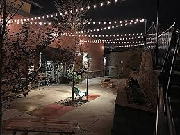 Novelty Patio Lights G50 Patio String Lights With 25 Clear Globe Bulbs Outdoor String