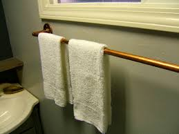 Towel Rack Ideas For Bathroom Nine Diy Copper Towel Rack