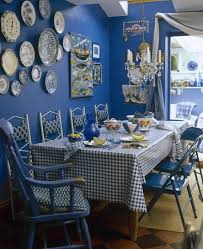 blue country dining room dining room decorating ideas lonny