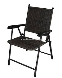 Folding Patio Chair by Wholesale Pe Rattan Patio Folding Chair Buy Discount Pe Rattan