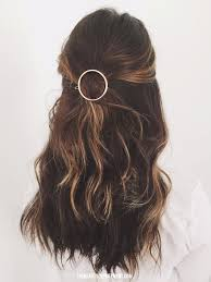 medium hair styles with barettes circle barrette style idea beauty department barrette and