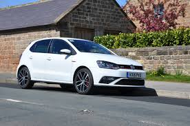 polo volkswagen black a hole lot of fun in the new polo gti