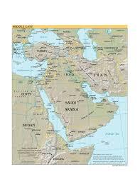 Mideast Map Mideast Policies