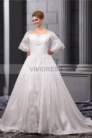 sweetheart floor length a line long sleeve lace up organza plus