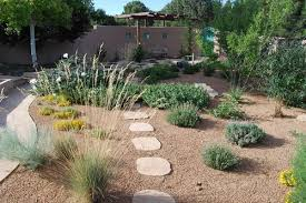 Landscape Mounds Front Yard - how to create a southwestern desert landscape design