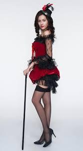 2pcs red velvet lace up corset u0026 black lace dress christms n10897