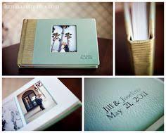 Leather Bound Wedding Albums álbum De Casamento 2 álbuns Pinterest