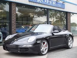porsche 911 convertible black second hand porsche 911 997 carrera 3 8 s cabriolet for sale in