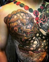 images of foo dogs 75 fantastic foo dog tattoo ideas a creature rich in symbolic