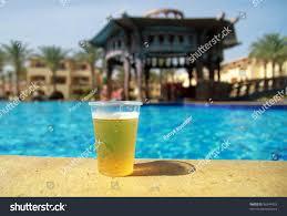 glass beer swimming pool stock photo 56344453 shutterstock