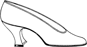 free shoes clipart black white image 11130 shoes clipart
