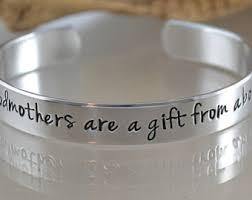 godmother bracelet godmother gift womens gift christening gift baptism gift