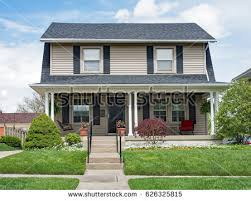 house with porch two house stock images royalty free images vectors