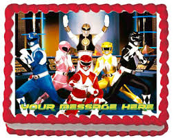 power rangers wrapping paper ranger etsy