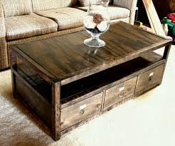 coffee table with hidden gun storage plans coffee table sliding top plans with storage diy wood fresco lime