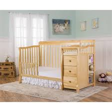 Crib Converts To Toddler Bed On Me 5 In 1 Brody Convertible Crib With Changer White