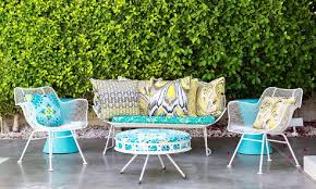modern palm springs outdoor furniture goods inside patio plan