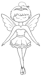 free coloring pages of fairy ballerina 17630 bestofcoloring com