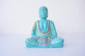 neon pink buddha statue u2013 paradise gypsies