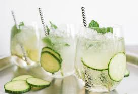 cucumber mint sparkler domesticate me