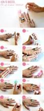 ways to get ombre nails at your own home 35 clever nail hacks you should be using