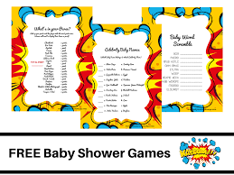 marvel baby shower free theme baby shower free printable baby shower