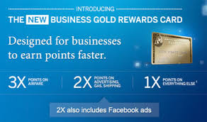 Business Gold Rewards Card From American Express Facebook And American Express Create New Currency For Advertising