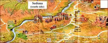 Map Of Sedona Arizona by Bell Rock The Paregien Journal