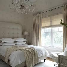 Leather Tufted Headboard Champagne Beige Bedroom With Tall Leather Tufted Headboard