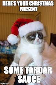 Tardar Sauce Meme - grumpy cat christmas meme imgflip