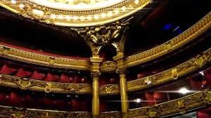 paris opera house chandelier palais garnier paris opera house youtube