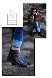 womens flat biker boots 20 stylish ways to wear boots