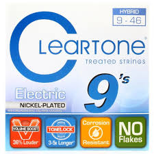 Medium Light Guitar Strings by Cleartone 9410 Electric Guitar Strings Light Amazon Co Uk
