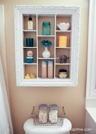 Bathroom Shelf Decorating Ideas by Magnificent Bathroom Over The Toilet Storage Ideas Above The