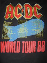 Baju Ac Dc stimulus bundle vintage ac dc world tour 1988 50 50 sold