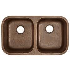Copper Kitchen Sink Reviews by Kitchen Hammered Copper Undermount Kitchen Sink Copper Sink