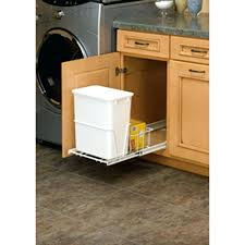kitchen trash cabinet pull out pull out garbage can with lid canada pull out kitchen trash can