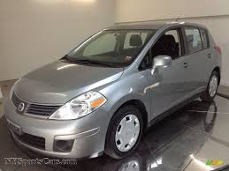 grey nissan versa 2008 nissan versa 1 8 sl hatchback in magnetic gray 365598