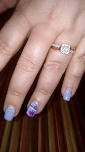 show off your vday nails and bling weddingbee