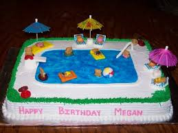 Pool Cake Designs Extraordinary 1000 Ideas About Swimming Pool
