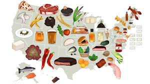 Portland Food Map by United States Of Sustainable Food Series Grist