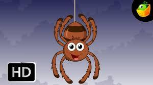itsy bitsy spider english nursery rhymes cartoon animated